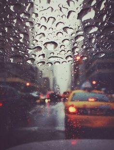Rainy car window. #rain #taxi #window