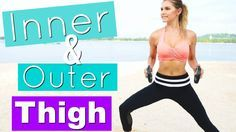 Inner & Outer Thigh Workout   Rebecca Louise - YouTube