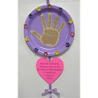 MOTHER'S DAY HANDPRINT POEM   A handprint and poem that Mom will treasure over the years.
