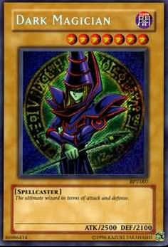 Dark Magician SECRET RARE HOLO YUGIOH CARD