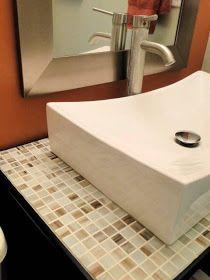 Salvage Savvy: Thinking Outside the Box: Bathroom Vanity