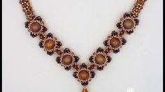 Herringbone Tube Beads (Tube-Tastic Necklace) - YouTube