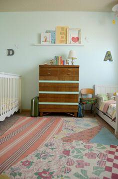 hart + sew | Vintage Baby Clothing: nursery tour