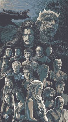 This is my Game of Thrones illustration/poster art tribute for their finished season. I am doing each characters a year ago and this time I joined a. Game of Thrones Art Tribute Dessin Game Of Thrones, Game Of Thrones Artwork, Game Of Thrones Facts, Game Of Thrones Dragons, Game Of Thrones Funny, Game Thrones, Game Of Thrones Characters, Got Quotes Game Of Thrones, Game Of Thrones Winter