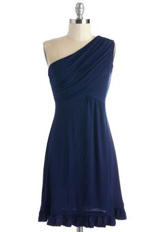 Midnight Sun Dress in Navy
