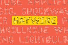 Haywire [SALE] by Ekloff on @creativemarket