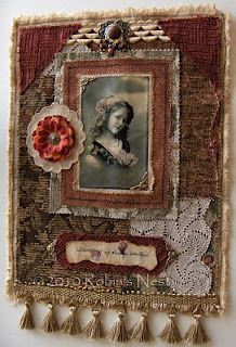 fabric collage by Robin Woodward