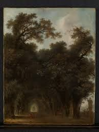Image result for a shaded avenue fragonard