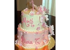 Pink butterfly birthday Cake  La Belle Vie Bakery - Garland, TX