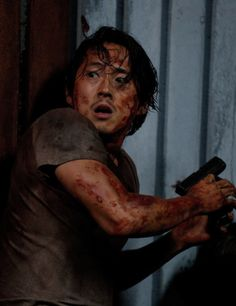 Glenn Rhee in The Walking Dead Season 6 Episode 9 | No Way Out
