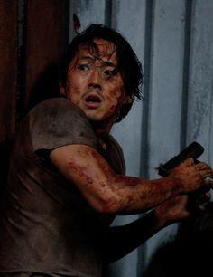 Glenn Rhee in The Walking Dead Season 6 Episode 9 | No Way Out