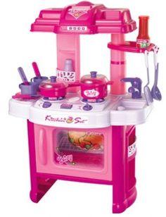 Kit Cozinha Infantil Com Som E Luzes.frete Grátis - R$ 185,99