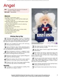Holiday Stocking Hangers Pg. 10