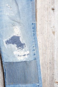 HYM Salvage X Urban Renewal Engineer Rip + Repair Jean - Urban Outfitters ICI