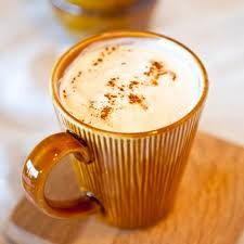 Hot Pumpkin Pie Drink - sub rice milk, ceylon cinnamon and allspice for cloves to make IC friendly and dairy free.