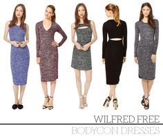 Our Current Obsession: Wilfred Free's Bodycon Dresses