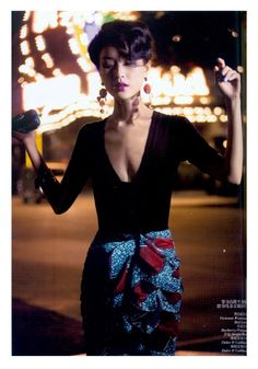 days of dreaming: du juan by wing shya for vogue china march 2012