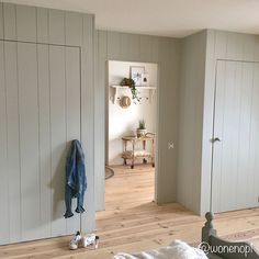 Bedroom Loft, Bedroom Decor, Style Cottage, Attic Spaces, House Doors, Ship Lap Walls, Built Ins, Mudroom, Tall Cabinet Storage