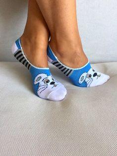 SocksWomen Socks Cute Socks Ankle Socks Gift for Her by Muggyshop