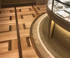 exclusive Chopard Pattern Floor by @renaissanceparquet Beautiful! Custom made!-Renaissance Parquet