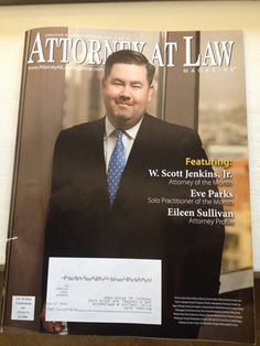 Good friend and Gonzaga Law School Alum, Scott Jenkins Jr. makes the cover of a local Phoenix, Arizona legal trade magazine. Great article that highlights Scott's dedication to his profession/firm, the community and his family. Congrats Scott.