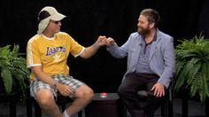 with Will Ferrell, Zach Galifianakis, Jon Hamm, Scott Aukerman, Between Two Ferns, Funny Or Die