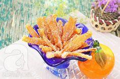 Mứt vỏ cam làm dễ ăn ngon