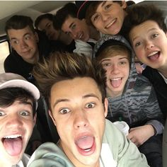 MAGCON boys! ft. Cameron Dallas, Blake Gray, Jacob Sartorious, Hunter Rowand, Aaron Carpnter, Brandon Rowland, and Taylor Caniff.