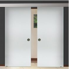 Double Glass Barn Doors With Sliding System + Inches Sliding Glass Barn Doors, Double Glass Doors, Best Home Office Desk, Tempered Glass Door, Trendy Home, At Home Gym, Diy On A Budget, Bars For Home, Rustic Farmhouse