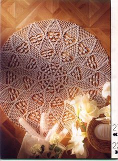 World crochet: Napkin 140