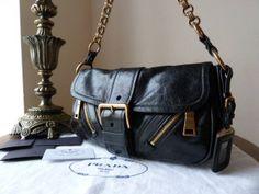 pink and black pradas - prada vitello vernice shoulder bag, prada laptop bag
