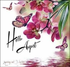 Happy New Month Quotes, August Quotes, Hello August Images, Hello July, Days And Months, Months In A Year, Summer Months, 12 Months, Seasons Of The Year