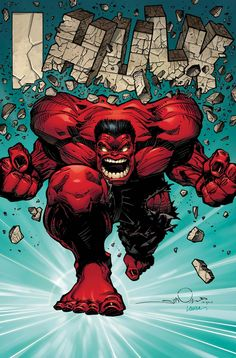 Red Hulk by Walt Simonson (from Hulk #50)
