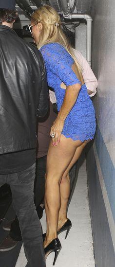 Paris Hilton Upskirt