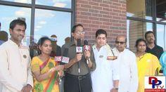 Satyam Mandapati speaking to the media at NNTV tribute Bapu garu.::