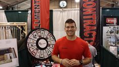 Stop by and see NSF Personal Trainer, Cameron Elkins at the Yuba Sutter Fair. It's the last day, so make sure to stop by and get entered to win a year membership! Buy this Prize Wheel at http://PrizeWheel.com/products/tabletop-prize-wheels/tabletop-black-clicker-prize-wheel-18-slot/.