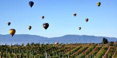 Hot air balloon in Saint-Emilion