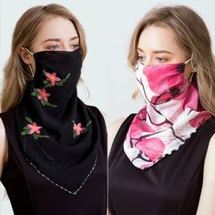 Products – Page 4 – PremiumFluMasks At Home Face Mask, Face Masks, Scarf Rings, Chiffon Scarf, Floral Style, Sun Protection, Scarf Styles, Womens Scarves, Wraps
