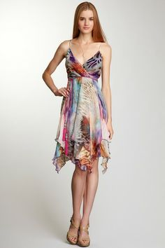 Winged Beauty Dress by YASB, perfect for a dinner on the island