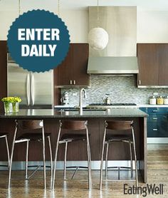 ♥ would LOVE to WIN EatingWell Magazine $25,000 Kitchen Makeover Sweepstakes!