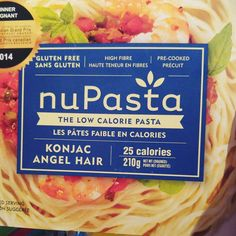 """(@blond_tigerrr) on Instagram: """"Tried this nuPasta this evening for dinner and I was very impressed! It tastes great and it wasn't…"""""""
