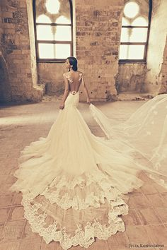 Julia Kontogruni Fall 2015 Wedding Dresses | Wedding Inspirasi