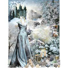 """""""Ice Princess"""" by sylphide on Polyvore"""