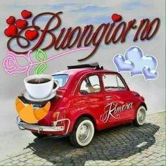 Buongiorno a te - BuongiornoATe.it - Upload Box Good Morning My Friend, Good Morning Good Night, Italian Greetings, Fiat 500 Pop, Italian Memes, Emoji Images, Italian Phrases, Night Wishes, Good Morning Greetings