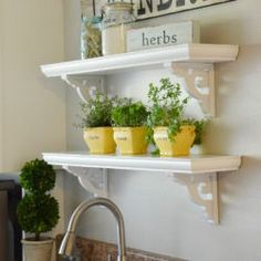 How to Make Café Shelves
