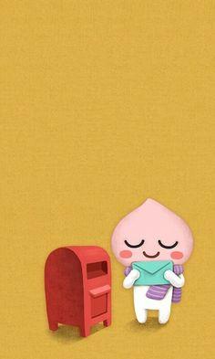 Line Friends, Best Friends, Apeach Kakao, Best Friend Wallpaper, Kakao Friends, Cute Designs, Coloring Books, Kawaii, Dolls