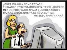 Padres que quieren saber qué hacen sus hijos en internet