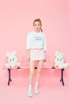 ★라이트베이지,블랙,핑크,화이트★편하고 귀여운 치마바지미니기장감, 다리가 길어보여요♡