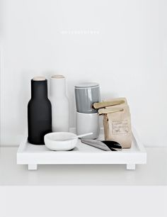 Only Deco Love: Kitchen Details and Interior tips for making your space feel and… Kitchenware, Tableware, Silver Blonde, Marble Wood, Latte Art, Kitchen Interior, Floating Shelves, Tiles, Sweet Home
