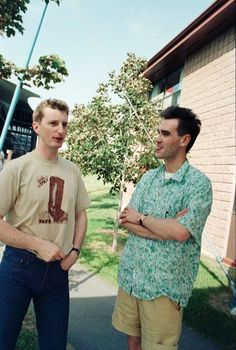 Billy Bragg and Morrissey / 1985